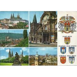 Praha, družený, heraldika,