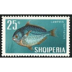1133. Albanie,**, ryby,