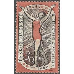 1092.- II. Celostátní spartakiáda, **,