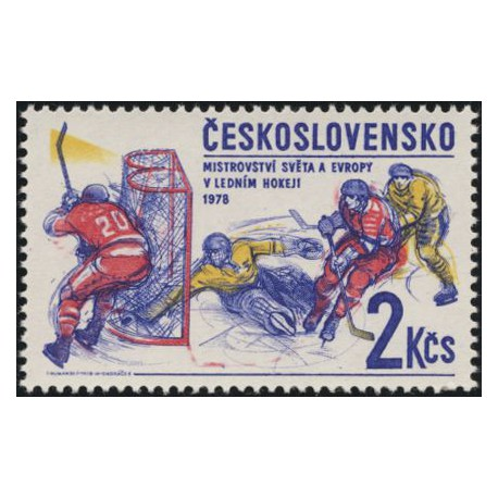 2306.- MS v ledním hokeji 1978,**,