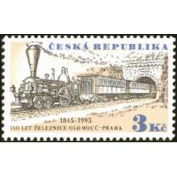 81-82./2/, 150. výročí příjezdu 1. vlaku z Olomouce do Prahy, **,