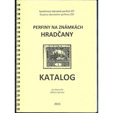 Perfiny na známkách Hradčany, katalog !!!NOVINKA!!!