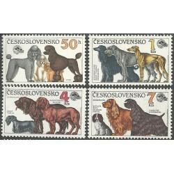 2947-2950./4/ Světová výstava psů Brno 1990,**,