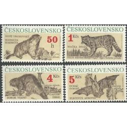 2955-2958./4/ Ochrana přírody - chránění savci,**,