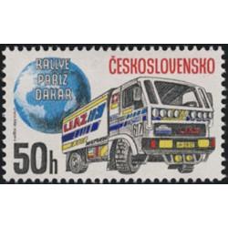2875- 2878./4/,Rallye Paříž - Dakar,**,