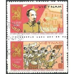 1085- 1086.-,st, Ho Chi Minh,o,