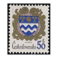 2682.- Znaky československých měst,**,