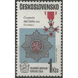 2686.- Expozice Vojenského muzea ČSSR,**,