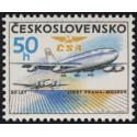 2743. 50 let letecké linky Praha - Moskva,**,