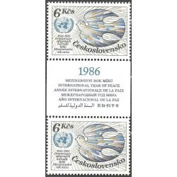 2689.,K,sp, 40. výročí založení OSN,**,