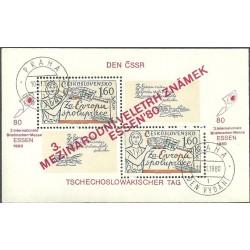 2460.A, Mezinárodní veletrh poštovních známek ESSEN 80,o,