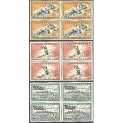 1122- 1124./3/,čtbl, XVII. Olympijské hry v Řím1960, **,