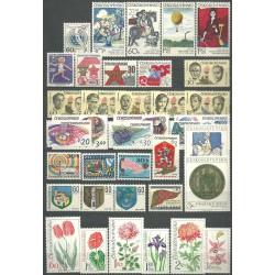 2005- 2060. /55/,rz, ročník známek 1973,**,