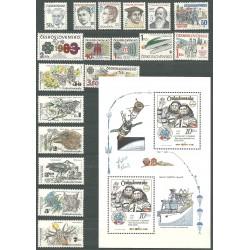 2574- 2626./60/,rz, ročník známek 1983,**,A,PL,