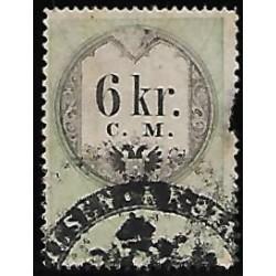 4. Ö,kolková známka 1857,o,