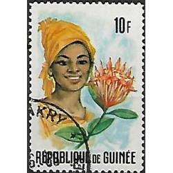 374.- Guinéejské ženy a květiny,o,