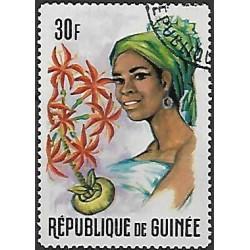 375.- Guinéejské ženy a květiny,o,