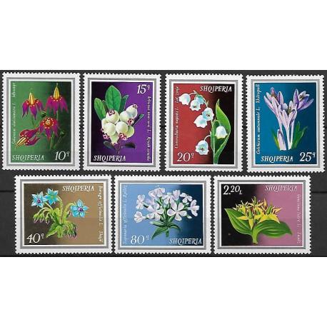1698- 1704./7/, Albanie- květiny,**,
