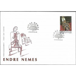 "1968.FDC, Endre Nemes,o"""