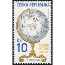 551. dílo J.A.Komenského: ORBIS PICTUS 350 let od vydání,**,
