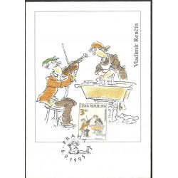 """CM 07- 83- Český kreslený humor,o"""",1995"""