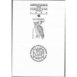PTM4.1995, Ochrana přírody- Výr skalní, 1995,
