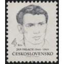 16.01.1969 Výročí upálení se Jana Palacha na Václavském náměstí v Praze.