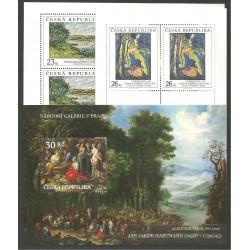 580.-,A, Umělecká díla na známkách 2008,**,