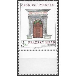 2455.-,KD, Pražský hrad 1980,**,
