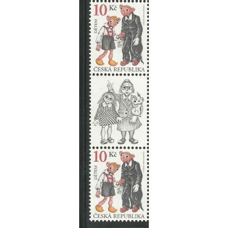 599. Dětem- Spejbl a Hurvínek 2009 ,**,