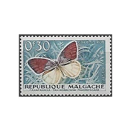 445.- motýl,**,