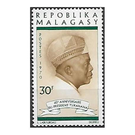 626. prezident Tsiranana,**,