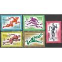 4921- 4925/5/, Olympijské letní hry- atletika,**,