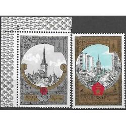 4927- 4928/2/, Olympijské letní hry- turistika,**,