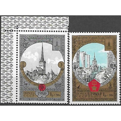 4927- 4928/2/, Olympijské letní hry-turistika,**,