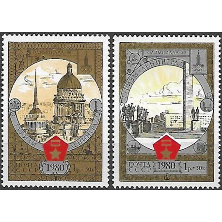 4940- 4941/2/, Olympijské letní hry- turistika III.,**,