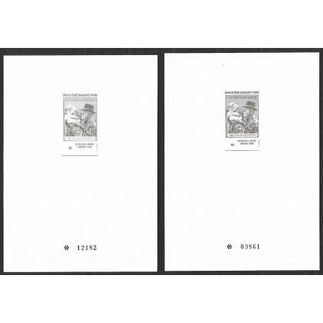 PT11a,b Tradice české známkové tvorby 2000,