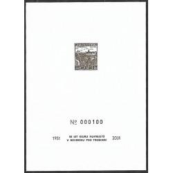 spl 2001309 Pamětní list 50 let klubu bilatelistů vRovensku pod Troskami 151- 2001,,,