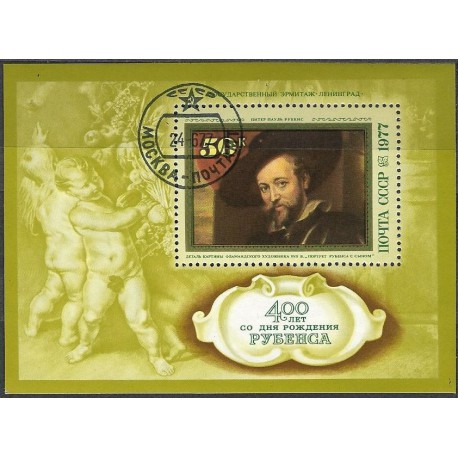 4612.Bl.118. 400. výročí P.P.Rubense ,o,