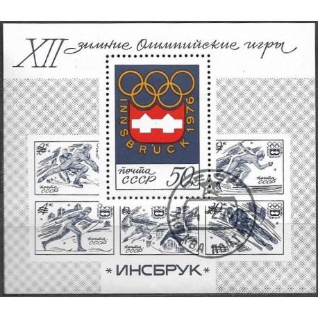 4449.Bl.109 Olympiáda Insbbruck 1976,o,