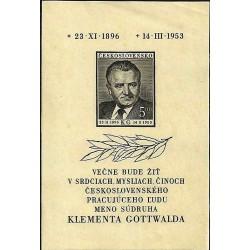 719.A, Úmrtí Klementa Gottwalda,**,