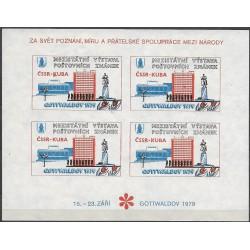 """PT, /5/, Mezinárodní výstava poštovních známek 1979,/*/,o"""","""