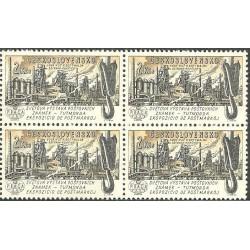 1213.-,čtbl, Světová výstava poštovních známek PRAGA 1962, **,