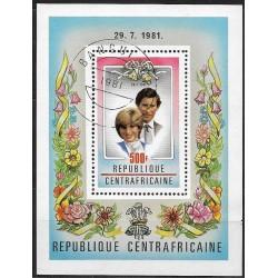Střední Afrika- CENTRAFRICANE 757Bl134,o,
