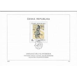 """96- 98./3/,NL,/3/,  Umělecká díla na známkách,o"""","""