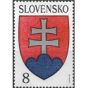 162. Slovenský státní znak 1993,**,