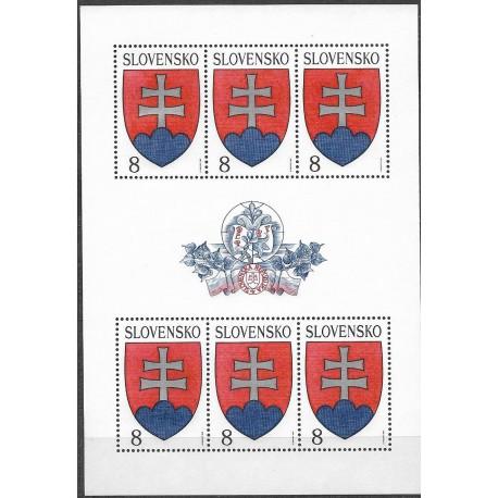162.,PL, Slovenský státní znak 1993,**,