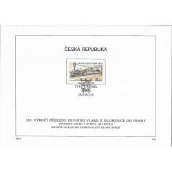 """81- 82./2/,NL/2/, 150. výročí příjezdu 1. vlaku z Olomouce do Prahy,o"""","""