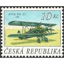 126-128./3/ Čs historická letadla,**,