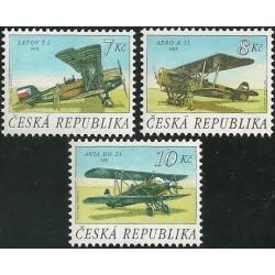126- 128./3/, Čs. historická letadla,**,